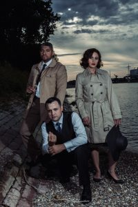 Mafia-vintage-themed photography